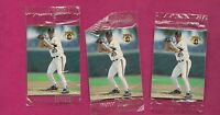 3 X RARE 1993  PIRATES TIM WAKEFIELD  UNOPENED  HUMPTY DUMPTY MINI (INV # 8114)