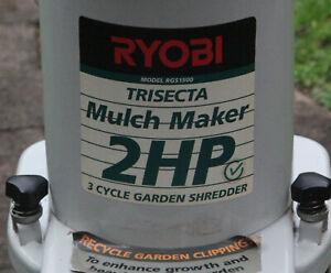 Ryobi Trisecta Mulcher 2hp Electric