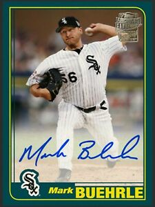 DIGITAL CARD Topps Bunt Archives Fan Favorites Silver Signature Mark Buehrle