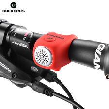 ROCKBROS Electric Handlebar Bell Cycling Bike Bells Horn Rainproof MTB Bicycle
