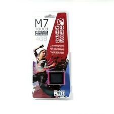 "LASER MP3 PLAYER PULSE M7 TOUCH VIDEO FM RADIO 1.8"" TFT 4GB PNK NEW MP4-M7T-4GBP"