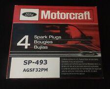 (Pack of 4) Motorcraft SP-493 Platinum spark plug OEM Ford Lincoln Mercury Mazda