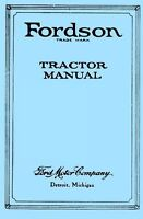 Ford Fordson Tractor Owner Operators Service Manual