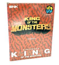 King of the monsters Carton Box Jeu SNK Neo Geo AES - NTSC-J / JAP - Avec notice