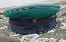 Schirmmütze Tschechoslowakei Armee selten aber Schirm gebrochen!