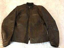 Vintage Brooks Of Detroit Leather Motorcycle Jacket, Size 40