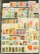 Viet Nam Lot of over 550 Stamps Cancelled with Gum #6951