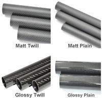 3K Carbon Fiber Tube OD8mm x ID5mm x 500mm Gloss RC Model Parts US warehouse 8x5