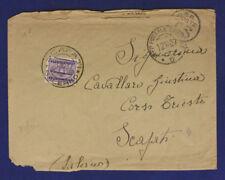Ufficio Postale Speciale 5 Timbro Arrivo Segnatasse 50 Cent. 12.10.1937  #XP172E