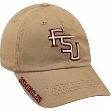 Florida State Seminoles FSU Seminoles Hat - NEW - NWT - Khaki