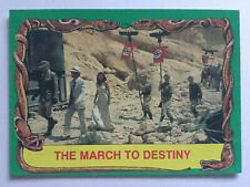 Indiana Jones Raiders Of The Lost Ark Topps 1981 Card 77 March Of Destiny