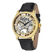 Stuhrling Original 393 333531 Men's Winchester Skeleton Black Watch