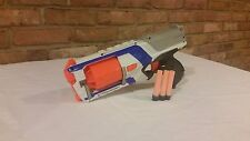 Nerf Strong Arm pump action w/ 3 Nerf rounds