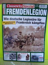 """Buch Clausewitz Spezial Fremdenlegion Wie deutsche Legionäre kämpften """"Neu""""(AND)"""