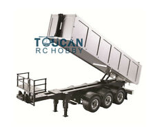 Hercules 1/14 Scale Metal Version RC KIT Tipper Dump Dumper Lorry Truck Trailer