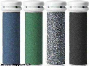 4 x Emjoi MICRO Mineral Compatible Pedi Mixed Grade Coarse Replacement Rollers