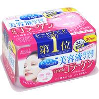 ☀ KOSE Cosmeport Clear Turn Essence Face Mask 30 sheets Collagen Japan ☀