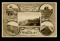 Sussex BEXHILL-ON-SEA M/view Souvenir PPC