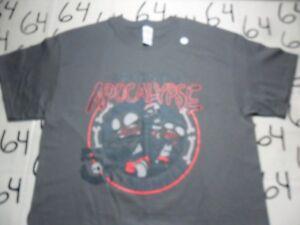 Large- Post Apocalypse Shirt Punch Gildan Brand T- Shirt