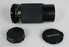 75-200MM 4.5 MACRO FOR CANON FD WITH FRONT AND REAR LENS CAPS