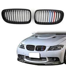 Gloss Black M Sport Colour Mesh Front Calandre Nose Pour BMW E90 E91 LCI 09-12 ,