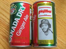 BAKE McBRIDE No 21 CANADA DRY 1979 PHILADEPHIA PHILLIES Commerative 12oz Can