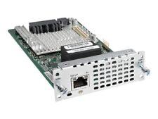 USED Cisco NIM-1MFT-T1/E1 Multiflex Trunk Voice and WAN Network Interface Module