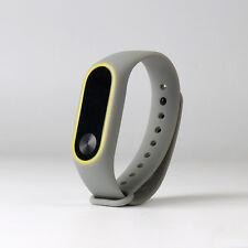 Original Silicon Wrist Strap WristBand Bracelet Replacement fit XIAOMI MI Band 2