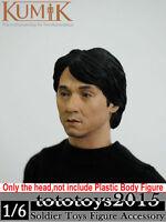"1/6 Scale KUMIK 13-41 Jackie Chan Male Headsculpt F 12"" HT Man Action Figure"