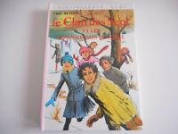 BIBLIOTHEQUE ROSE - LE CLAN DES SEPT ET LES BONHOMMES DE NEIGE /ENID BLYTON 1981