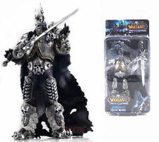 WOW World of Warcraft Lich King Arthas Toy Figure Figurine Doll Display 16CM