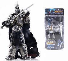 WOW World of Warcraft Lich King Arthas Toy Figure Figurine Doll Display 16CM