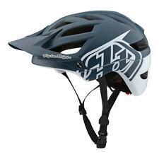 Troy Lee Designs A1 MIPS Classic Mountain Bike Helmet Gray/White