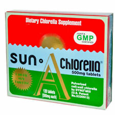 Sun Chlorella, Sun Chlorella A, 500 mg, 600 Tablets