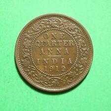 1912 India 1/4 Quarter Anna SNo57501