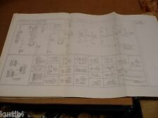 1975 Ford F500 F600 F700 truck wiring diagram schematic SHEET service manual