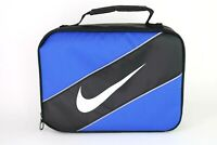 Nike Classic Insulated Storage Lunch Box Bag Black/Blue 9A2663 U89 Tote School