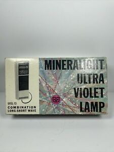 UVP Mineralight UVSL-13  UV lamp transilluminator hand-held compact  mini long