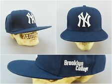 New York Yankees Snapback Baseball Cap with Embroidered Brooklyn College Logo