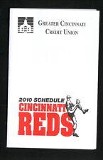 2010 Cincinnati Reds Schedule--Greater Cincinnati Credit Union