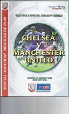 Charity Shield Teams C-E Chelsea Final Football Programmes