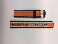 BULOVA HARLEY DAVIDSON 76B144 MENS FABRIC REPLACEMENT STRAP ONLY