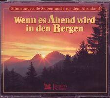 Wenn es Abend wird in den Bergen -  Reader's Digest  4 CD Box