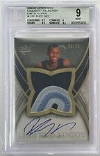 2006-07 Upper Deck Exquisite Collection Rudy Gay Auto RC /50 BGS 9 w/10 Auto