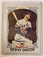 TOPPS GYPSY QUEEN LOU GEHRIG NEW YORK YANKEES POWER ALLEY CARD #PA-16