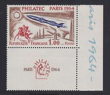 France Sc 1100 MNH. 1964 PHILATEC Paris, XF