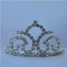New Wedding Bridal Rhinestone Crown Headband Jewelry Mini Tiara Hair Headpiece