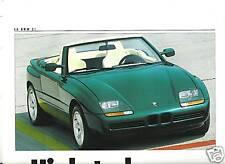 BMW série 3 - 5 - 7 - 635 CSi - Z1 - 1988 / catalogue brochure prospekt catalog