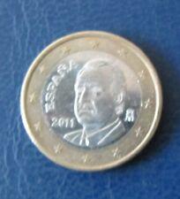 1 Euro Münze Spanien Prägejahr 2011 aus Umlauf Sammlerstück!