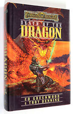 Greenwood-Denning FORGOTTEN REALMS DEATH OF THE DRAGON Wizards 2000 FANTASY
